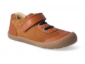 barefoot tenisky koel4kids bernardinho cognac 2