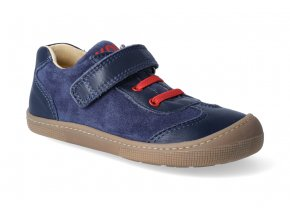 barefoot tenisky koel4kids bernardinho blue red 3
