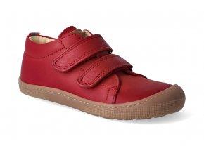 barefoot tenisky koel4kids bernardinho red 2