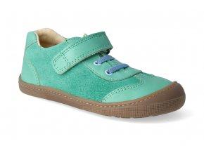 barefoot tenisky koel4kids bernardinho green blue 2