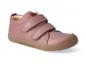 barefoot tenisky koel4kids bernardinho old pink 2