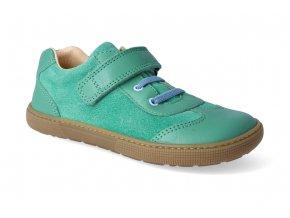 barefoot tenisky koel4kids bernardo green blue 3