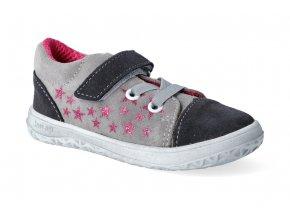 barefoot tenisky jonap b12 sede hvezdy slim 3