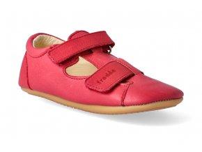 barefoot sandalky froddo prewalkers red 2 2