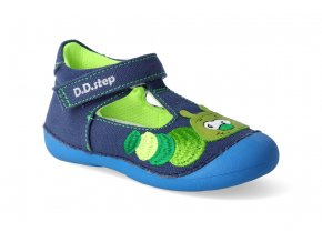 textilni sandalky d d step c015 969 royal blue 2