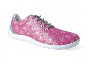 barefoot polobotky jampi bea pink platene 2