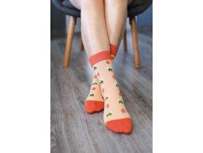 barefoot ponozky vcielky 16141 size large v 1