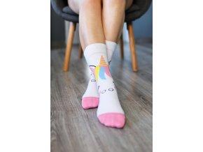 barefoot ponozky jednorozec 16159 size large v 1