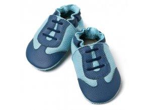 liliputi soft baby shoes blue sport 2112