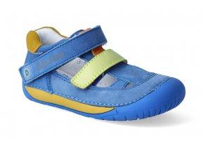 barefoot sandalky d d step 070 698 bermuda blue 2