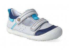 barefoot sandalky d d step 063 662 light grey 3
