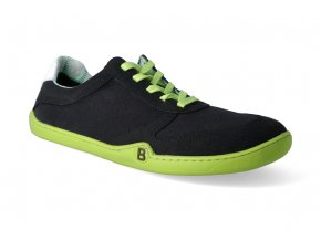 barefoot tenisky blifestyle sportstyle micro textile black 3