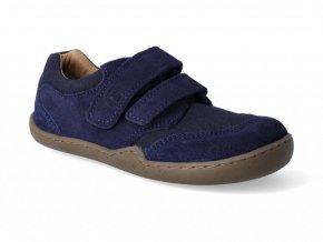 Barefoot tenisky Blifestyle - Skink bio strap marine
