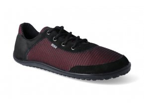 barefoot tenisky beda black poppy adult 3