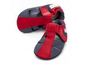 liliputi soft baby sandals flame 3030