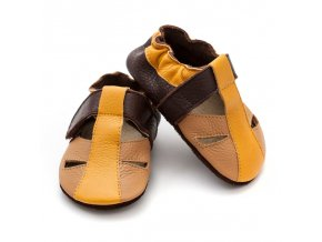 liliputi soft baby sandals sand 3039