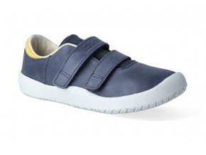 barefoot tenisky bundgaard benjamin velcro navy ws 3
