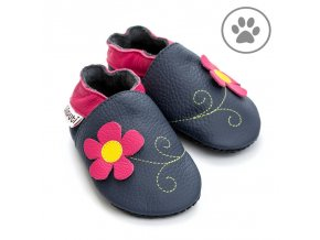 liliputi soft paws baby shoes spring flower 4257
