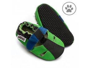 liliputi soft paws baby sandal bamboo 5041
