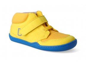 barefoot tenisky blifestyle okapi textil yellow 3