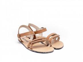 barefoot sandale lenka summer brown 1881 size large v 1