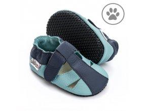 liliputi soft paws baby sandal sky 5045
