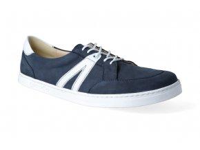 barefoot tenisky peerko street navy 3