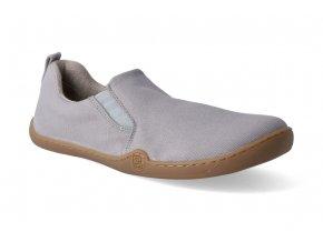 barefoot espadrilky blifestyle espadrillastyle textile cotton grau 2