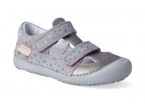 barefoot sandalky d d step 063 237b grey 3