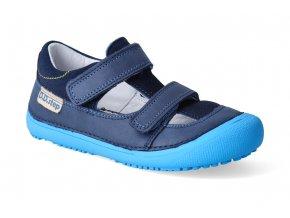 barefoot sandalky d d step 063 237 royal blue 2