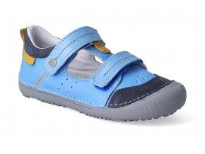 barefoot sandalky d d step 063 662a bermuda blue 3