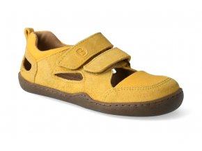 Barefoot sandály Blifestyle - Kammmolch bio strap maisgelb