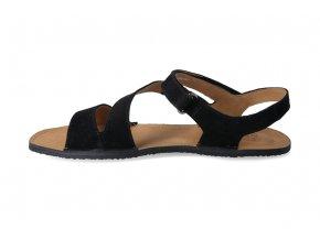 w sandale black angle re