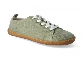 barefoot tenisky mukishoes low cut basil 2
