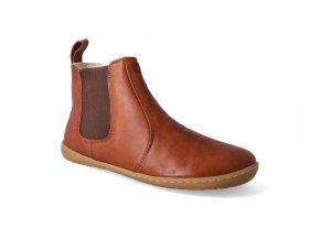 barefoot kotnikova obuv mukishoes chelsea caramel 2