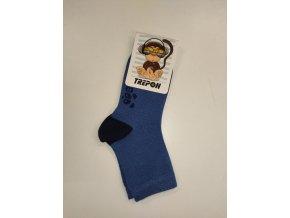Dětské bambusové ponožky Trepon - Hugo jeansové