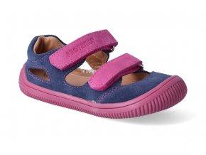 barefoot sandalky protetika berg blue 3