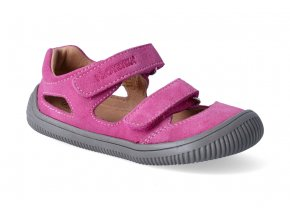 barefoot sandalky protetika berg fuxia 3