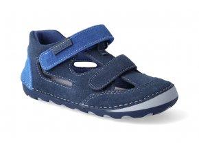 barefoot sandalky protetika flip marine 3