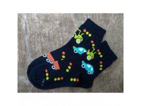 detske ponozky tobik tmavě
