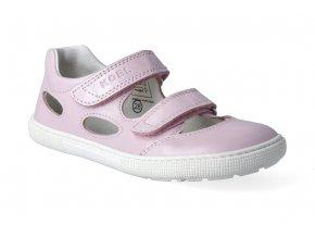 barefoot sandaly koel bernardo pink 3