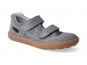 barefoot sandaly koel bernardo grey 2