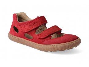 barefoot sandaly koel bernardo red 3
