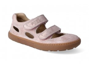 barefoot sandaly koel bernardo sparkling pink 2