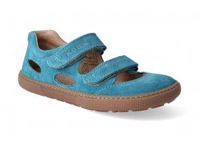 barefoot sandaly koel bernardo turquoise 3