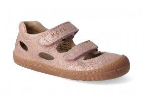 barefoot sandaly koel bernardinho pink chianti 2