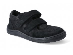 barefoot tenisky baby bare febo sneakers black 1