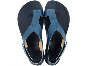soul barefoot women s sandals blue 1 21376 4