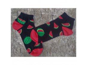damske ponozky meloun