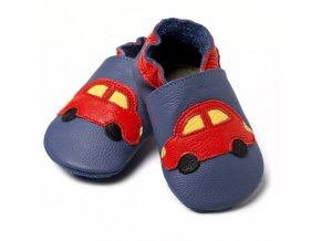 liliputi soft baby shoes blue cars v8 2092